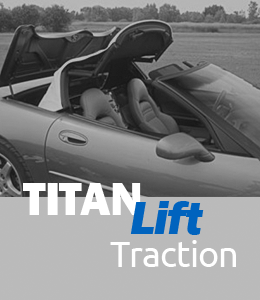 Titan Lift - Traction Gas Spring by AGS